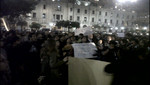 Imégenes de las protestas de limeños por la elección de miembros del Tribunal Constitucional y de la Defensora del Pueblo