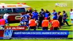 El encuentro entre Real Garcilaso y Sporting Cristal fue suspendido por muerte de Yair Clavijo