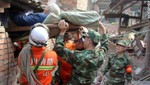 China: Al menos 75 personas muertas tras dos fuertes sismos