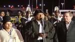 Presidente Evo Morales ya se encuentra en Quito para visita oficial
