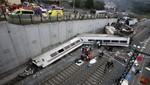 Accidente de tren en Galicia, al menos 35 muertos