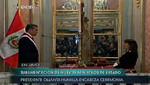 Tres mujeres juramentaron como ministras de Estado este mediodía en Palacio de Gobierno