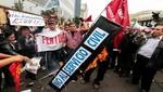 Saldo de las manifestaciones en Lima de este 27 de julio: 16 personas detenidas