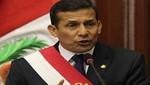 Ollanta Humala dirigirá el tradicional mensaje de Fiestas Patrias a partir de las 11 am