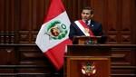 Mensaje a la Nación del Presidente de la República, Ollanta Humala Tasso