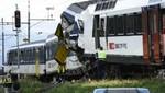 Suiza: Un muerto y más del 35 heridos en choque de trenes [VIDEO]