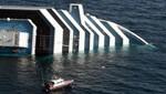 Suspenden búsqueda de desaparecidos en el Costa Concordia
