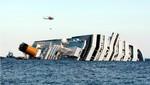 El Costa Concordia comienza a deslizarse y labores de rescate se suspenden