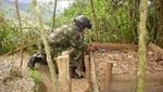 Perú retiró 3 mil de minas de frontera con Ecuador