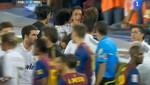 Video: Revive la bronca entre jugadores del Madrid y el Barcelona