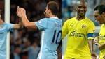 Champions League: Manchester City choca con el Villarreal