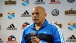 Roberto Mosquera dejó de ser técnico del Sporting Cristal