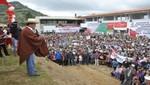 Gobierno Central destina más de S/. 16 millones en obras para el distrito de Yauyucan