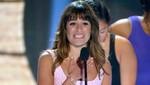 Lea Michele dedicó entre lágrimas su premio a su novio Cory Monteith [VIDEO]