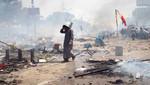 Balance trágico de los disturbios en Egipto: 173 muertos y 1330 heridos