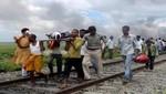 India: tren expreso mata 37 a peregrinos que cruzaban por la vías [VIDEO]