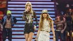 Taylor Swift y Jennifer Lopez a dúo en el Staples Center [VIDEO]