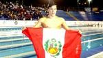 Gerardo Huidobro batió récord nacional en Mundial Junior de Natación en Dubái