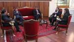 Jefe del Gabinete dialogó con Perú Posible y Restauración Nacional
