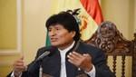 Morales rechaza y condena posible intervención de EEUU a Siria