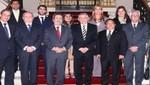Diálogo por la gobernabilidad del país con Solidaridad Nacional y Cambio 90