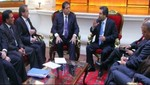 Jefe del Gabinete se reunió con el APRA en el marco del diálogo por la gobernabilidad