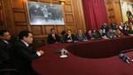 Se esperará informe final de comisión y no habrá ningún blindaje a Toledo