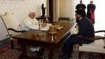 Morales se reunió con el papa Francisco por más de 40 minutos en el Vaticano