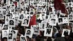Gran manifestación en calles de Santiago de Chile recordando los 40 años del Golpe de Estado de Augusto Pinochet