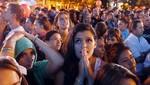 [Madrid] La decepción enmudeció a la multitud en la Puerta de Alcalá