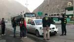 Policía rescata una menor de 15 días de nacida cuando era trasladada a Huancayo