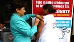 Población de Pichari en el VRAEM recibe vacunas contra hepatitis B