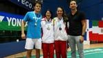 Badmintonista Daniela Macías logra dos medallas en Open de Guatemala