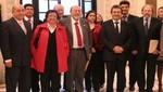 Mayor y Frente Amplio de Izquierda dialogaron sobre consenso y desarrollo para el país