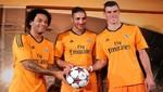 El Real Madrid presentó sus nuevas camisetas para la temporada 2013/14