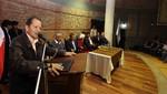 Ministro Merino anuncia que el estado construirá represa de Chonta en Cajamarca