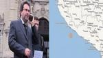 Jefe del Gabinete viaja a Arequipa para supervisar acciones realizadas tras sismo