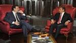 Presidente Ollanta Humala sostuvo reunión con Jefe del Gobierno Español, Mariano Rajoy, en Nueva York