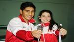 Badmintonista Daniela Macias y José Guevara lograron medalla de plata en Juegos Sudamericanos de la Juventud
