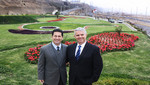Alcalde Heresi y embajadores de Suecia e Israel visitaron futuro Parque Wallenberg en San Miguel