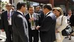 Presidentes de Perú y México se reunieron en el marco del foro APEC en Indonesia