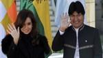 Morales expresa su solidaridad y deseo de pronta recuperación a presidenta de la Argentina