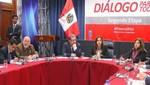 Primera Vicepresidenta de la República, reitera política de puertas abiertas para el Diálogo Nacional