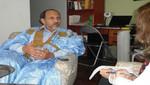 Alisalem Sidi Zein, Embajador en Misión de la República Saharaui: 'Nos divide el muro más largo y minado del mundo'
