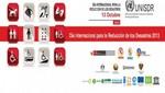 Campaña por el Día Internacional para la reducción de desastres priorizará a personas con discapacidad
