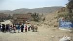 Ministerio de Cultura y comunidad de Ate juntos en el mantenimiento y protección de Puruchuco