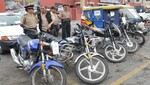 Treinta conductores de motos lineales intervenidos no tenían documentos