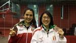 Daniela Macias y Dánica Nishimura logran medalla de bronce en Panamericano de Bádminton