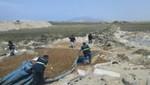 Ciento ochenta toneladas de anchoveta eran secadas ilegalmente en Chimbote y Virú
