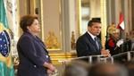 Declaración conjunta de los Presidentes Ollanta Humala Tasso, y Dilma Rousseff, del Brasil